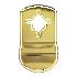 Banham Door Pull Polished Brass