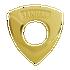 Banham Door Rose Polished Brass