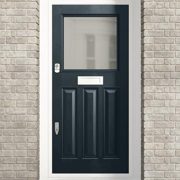 Banham 1920's Glazed Door