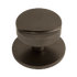 Banham Centre Door Knob Dark Bronze