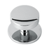 Banham Centre Door Knob Polished Chrome