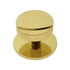 Banham Centre Door Knob Polished Brass