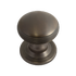 Banham Contour Centre Door Knob Dark Bronze