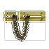 Banham Door Chain Satin Brass