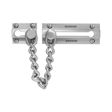 Banham Door Chain Satin Chrome