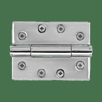 Banham Door Hinge Polished Chrome