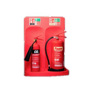 Banham Double Plastic Extinguisher Stand