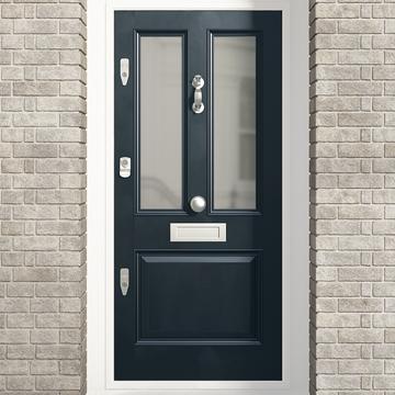 Banham Edwardian 3 Panel Glazed Door