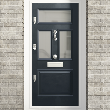 Banham Edwardian 4 Panel Glazed Door