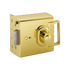 Banham EL4000 Electric Release Lock Polished Brass