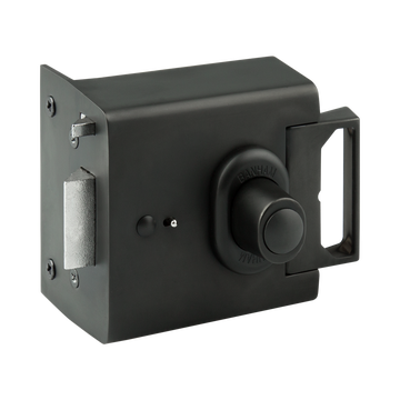 Banham EL4000 Electric Release Lock Satin Black