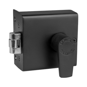 Banham FD5000 Fire Roller Bolt Nightlatch Satin Black