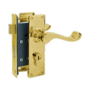 Banham G7130 Sash Mortice Polished Brass
