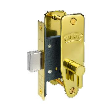 Banham G7134 Narrow stile with Thumbturn Polished Brass