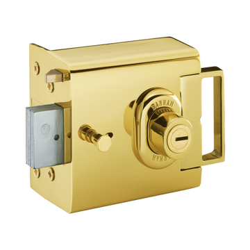 Banham L2000 Nightlatch Polished Brass