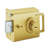 Banham L2000 Nightlatch Satin Brass Marine