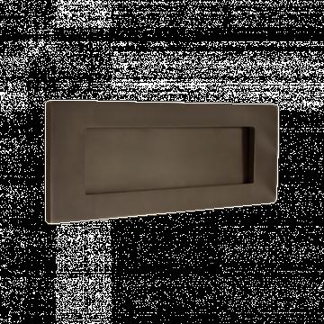 Banham Letter Plate Dark Bronze