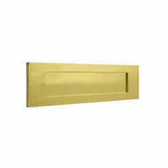 Banham Letter Plate Polished Brass