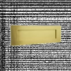 Banham Letter Plate Satin Brass