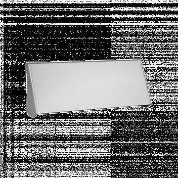 Banham Letterbox Protector Satin Chrome