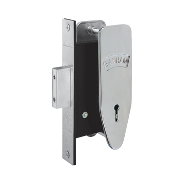 Banham M97 7 Lever Deadlock Polished Chrome