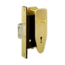 Banham M97 7 Lever Deadlock Satin Brass
