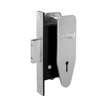Banham M97 7 Lever Deadlock Satin Chrome