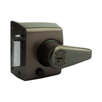 Banham NS3000 Narrow Stile Nightlatch Dark Bronze