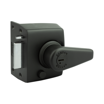 Banham NS3000 Narrow Stile Nightlatch Satin Black