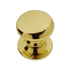 Banham Profile Centre Door Knob Polished Brass