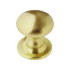 Banham Profile Centre Door Knob Satin Brass