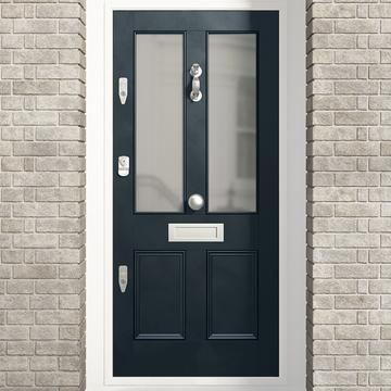 Banham Victorian 4 Panel Glazed Door