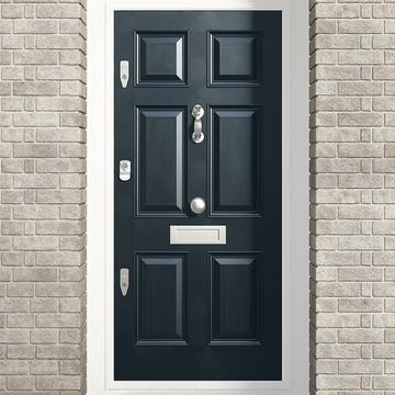 Banham Victorian 6 Panel Raised Mouldings Door