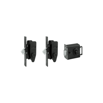 Banham L2000 and M2002 (x2) Lock Kit Black