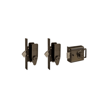 Banham L2000 and M2002 (x2) Lock Kit Dark Bronze