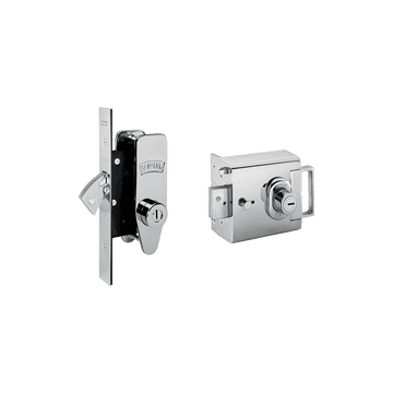 Banham L2000 and M2002 Lock Kit Polished Chrome