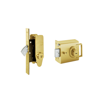 Banham L2000 and M2002 Lock Kit Satin Brass