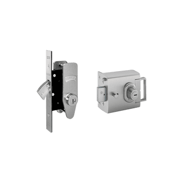 Banham L2000 and M2002 Lock Kit Satin Chrome