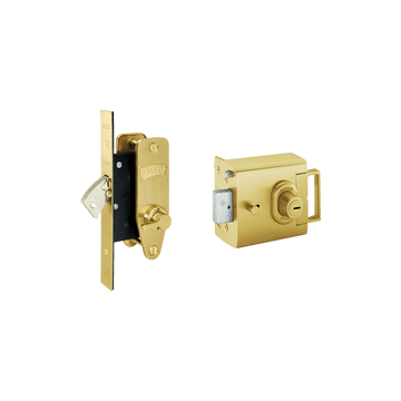 Banham L2000 and M2003 Lock Kit Satin Brass