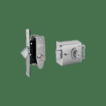 Banham L2000 and M2003 Lock Kit Satin Chrome