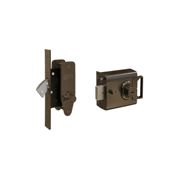 Banham L2000 and M2003 Lock Kit Dark Bronze