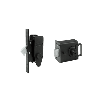 Banham L2000 and M2002 Lock Kit Black