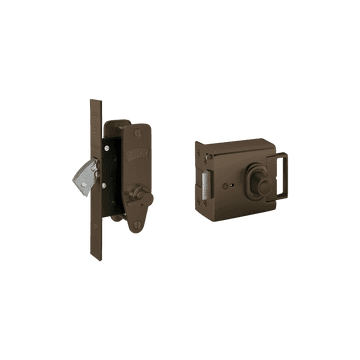Banham EL4000 + M2003 Lock Kit Dark Bronze