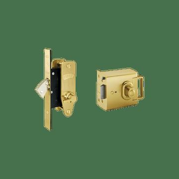 Banham EL4000 + M2003 Lock Kit Satin Brass
