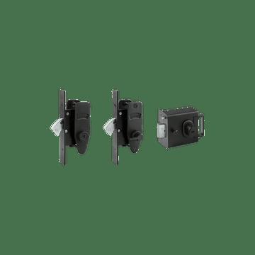 Banham L2000 + M2002 + M2003 Lock Kit Black