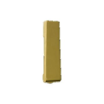 Soho Slim Door Knocker Polished Brass