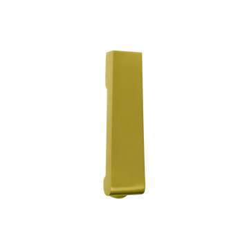 Soho Slim Door Knocker Satin Brass