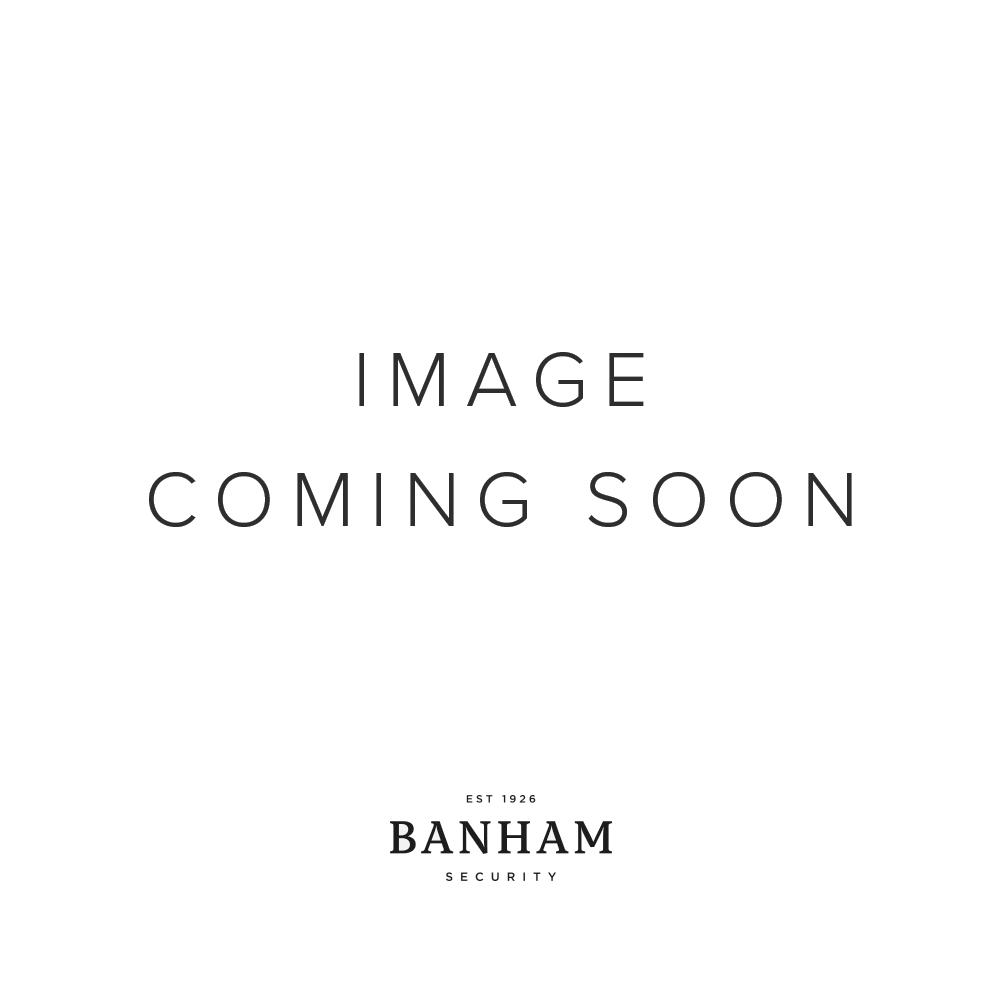 Banham Letter Plate Satin Chrome