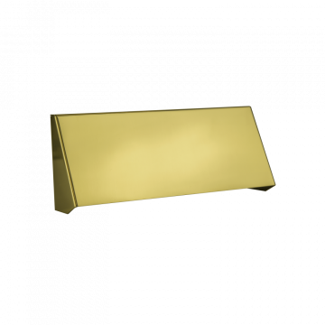 Banham Letterbox Protector Polished Brass