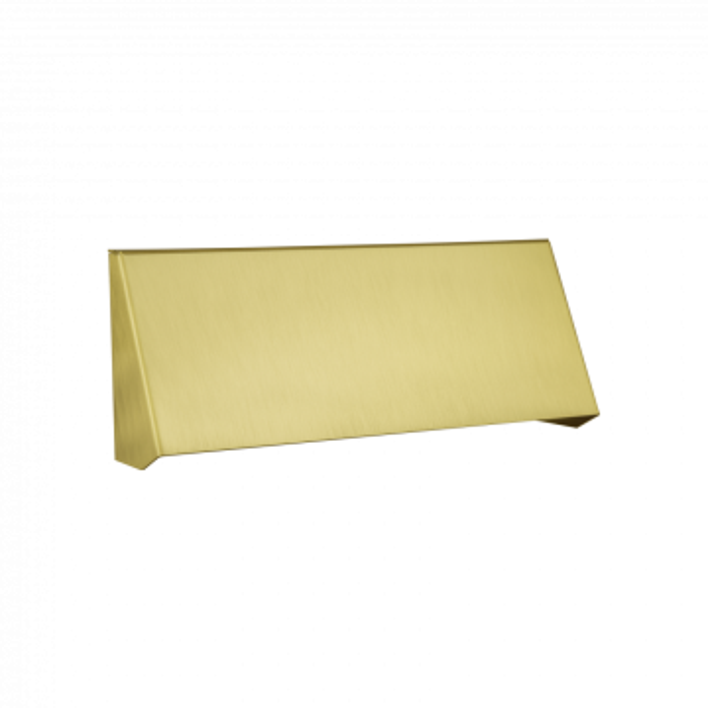 Banham Letterbox Protector Satin Brass